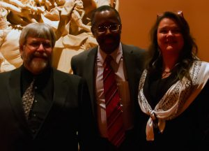 Dr. Carson with Steve and Angela