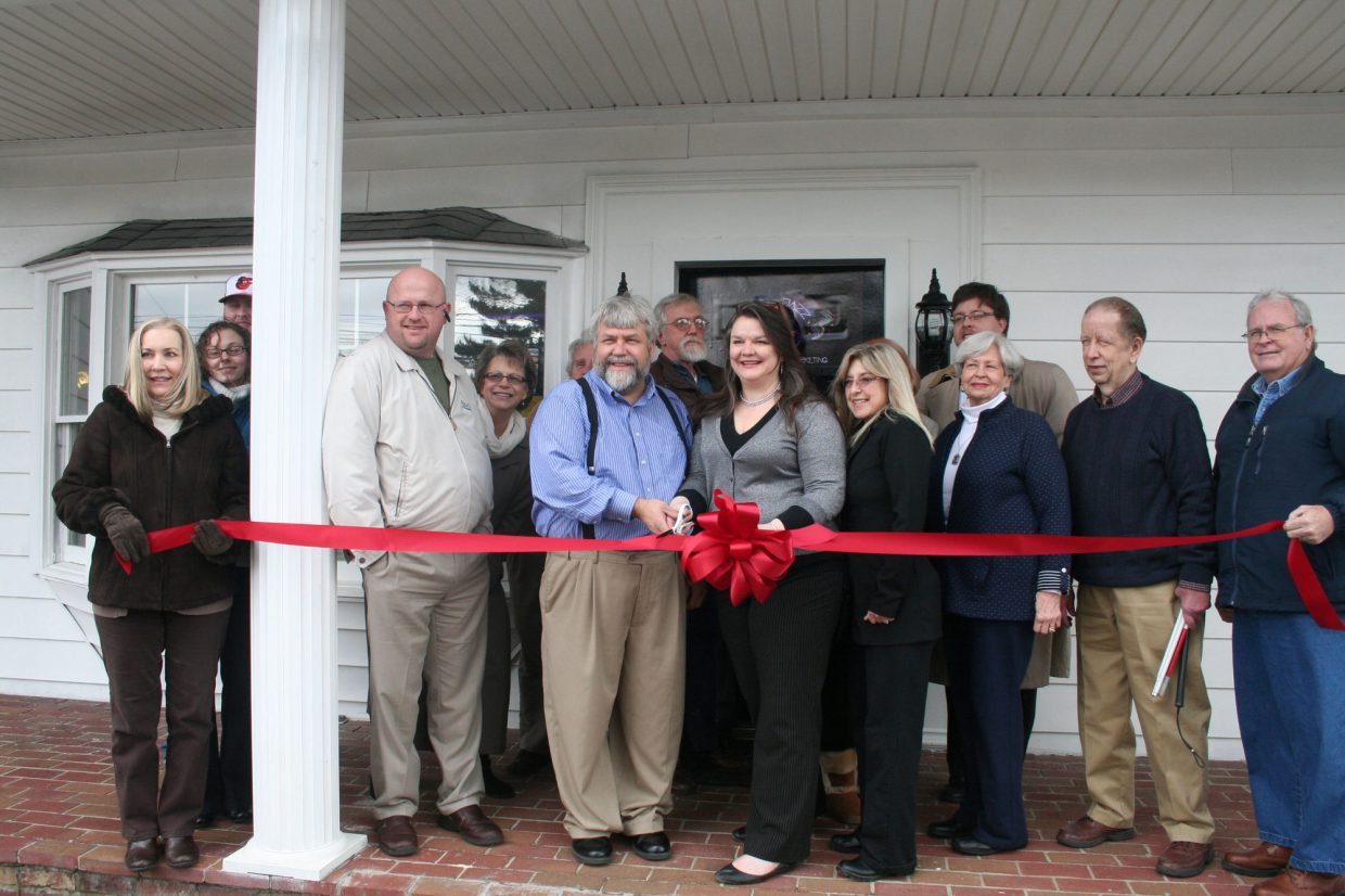 Ribbon Cutting Ceremony Cool Jazz Web Design in Danville KY