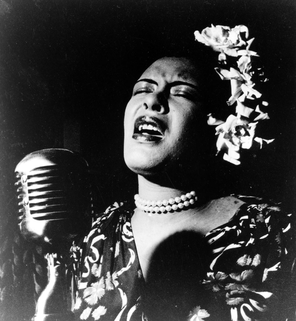 Billie Holiday Jazz Singer and Namesake of Wordpress 4.3