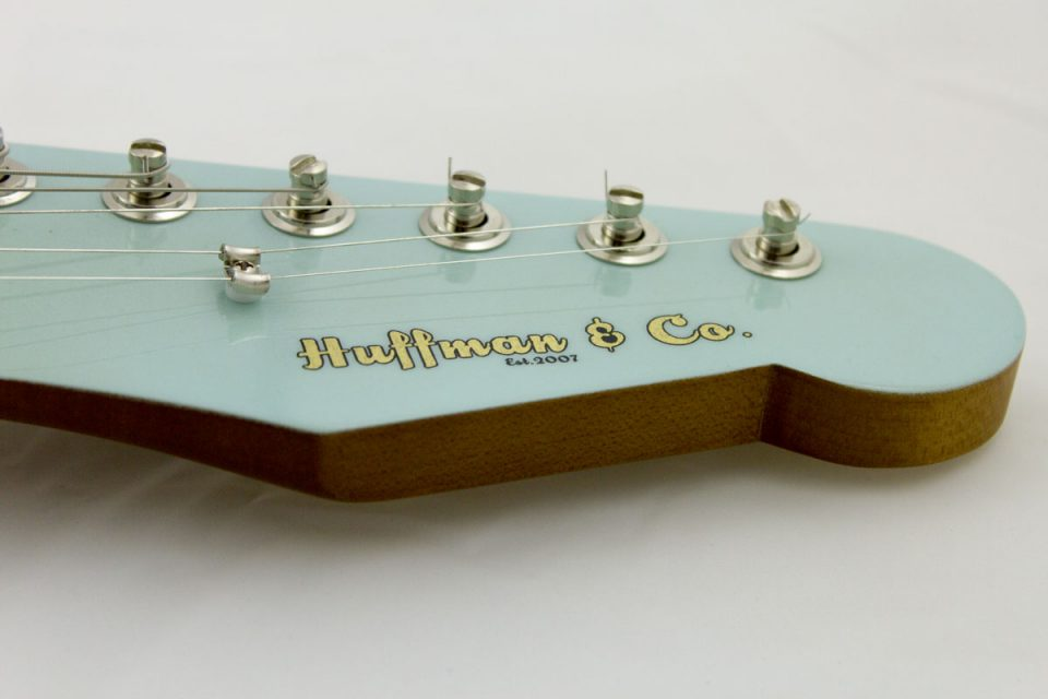 Huffman & Co Custom Guitars in Central Kentucky