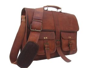 Leather Briefcase for Laptops