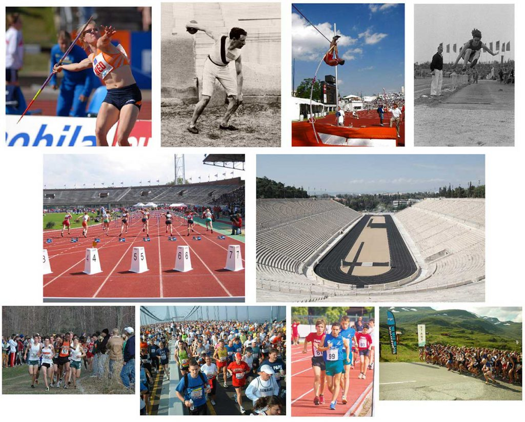 Athletics competitions